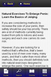 Methods to increase penis size